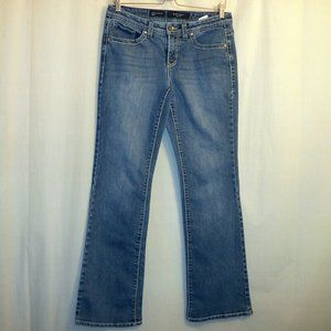 Nine West Date Night Fit Bootcut Jeans Size 6 Blue